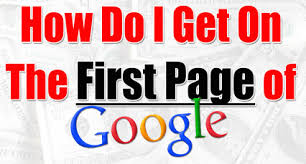 how-to-get-on-the-first-page-of-google